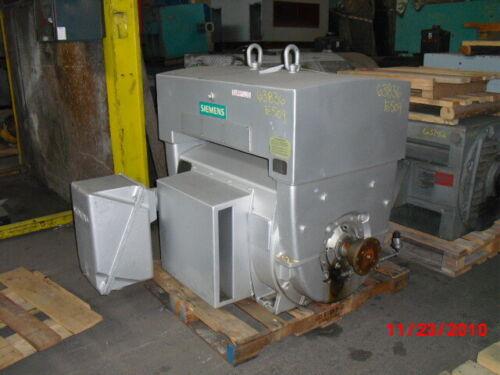 500 HP Siemens AC Electric Motor 3600 RPM Fr 509S WPIISB 2300/4000 V EOK