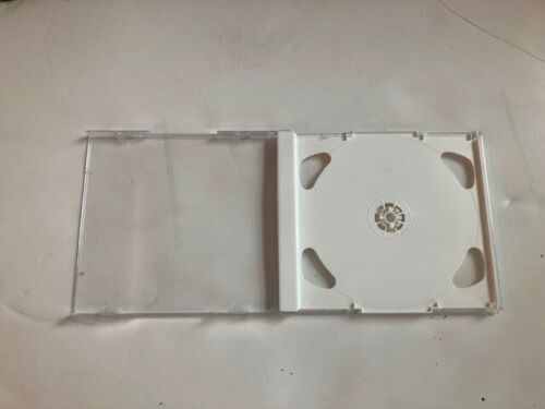 1 Top Quality 10.4mm Very Rare Brilliant Double 2 CD Jewel Cases w/White Tray