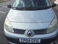 2004 RENAULT SCENIC 1.4cc EXCELLENT CONDITION ECONOMICAL AND RELIABLE LOW MILEAGE DRIVES PERFECT