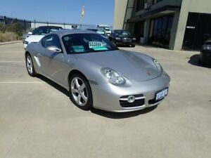 2006 Porsche Cayman 987 MY07 S Silver 5 Speed Sports Automatic Coupe Wangara Wanneroo Area Preview