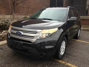 2012 FORD EXPLORER, 7 SEATER, ACCIDENT FREE