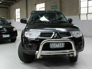 2012 Mitsubishi Challenger PB (KG) Black Sports Automatic Wagon Knoxfield Knox Area Preview