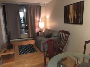 2 Bedroom Furnished Condo, Downtown Robson St. Nov 1