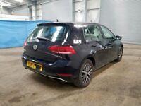 Vw Volkswagen Golf MK7 7.5 BREAKING SPARES AIRBAG LEATHER SEATS ALLOY DOORS AXLE HUBS CORNERS
