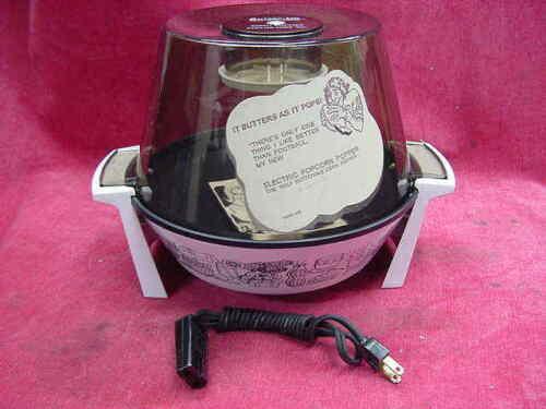 Rare 505 Model Hamilton Beach Butter-Up Popcorn Popper Never Used 1973