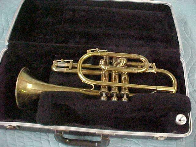 Holton Cornet in Great Playing Condition, Elkhorn Wis.