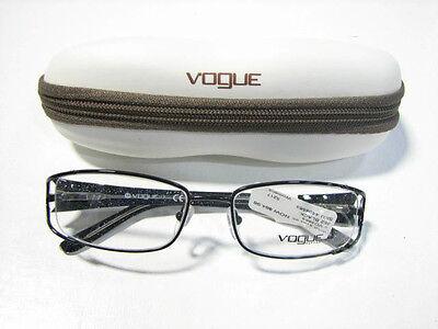 Vogue VO3893 Women's Black 52-17-130mm Eyeglass Frames - NEW!