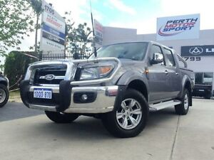 2011 Ford Ranger PK XLT (4x4) Grey 5 Speed Automatic Dual Cab Pick-up Beckenham Gosnells Area Preview
