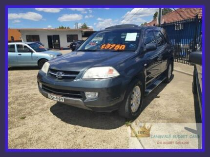 2003 Honda MDX Silver 5 Speed Automatic Wagon Lansvale Liverpool Area Preview