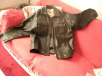 3 Mens Leather jackets Large