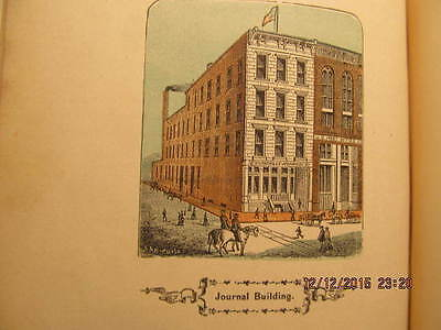 Extremely Rare Book Evansville (Indiana) & Its Men of Mark 1873 W/Illustrations