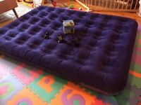 CAMPINGAZ double air bed with electric pump