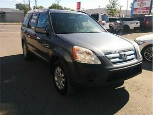 2006 Honda CR-V EX, 4X4 ** 1 AN DE GARANTY ** 2.4L, MANUAL,...