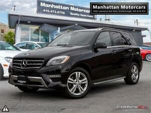 2015 MERCEDES BENZ ML350 BlueTEC |NAV|PANO|CAMERA|BLINDSPOT|WARR