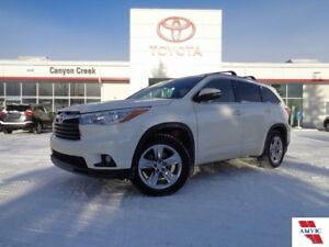 2015 Toyota Highlander Limited AWD W/ HEATED SEATS AND JBL AUDIO