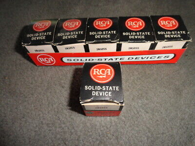 6 Nos Rca 2n5955 Silicon Power Transistors - Original Pkg Tray Mounting Kits
