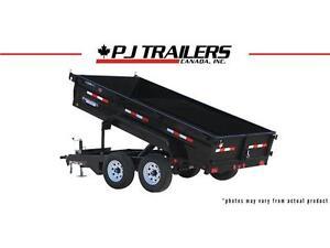 "12' x 72"" Tandem Axle Dump Trailer (D3)"