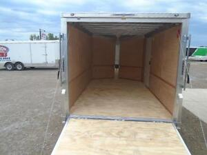 ALL ALUMINUM ENCLOSED 7X12' TRAILER -LIGHT WEIGHT, NO RUST ! London Ontario image 7