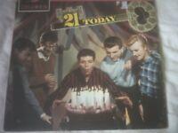 Vinyl LP 21 Today – Cliff Richard & The Shadows Columbia 33SX 1368 1961