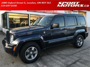 2008 Jeep Liberty Sport Trail Rated 4x4! New Brakes! A/C!