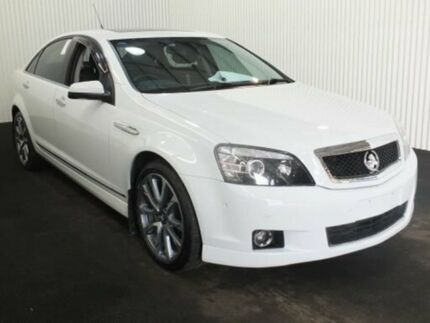 2015 Holden Caprice WN MY16 V Heron White 6 Speed Auto Active Sequential Sedan