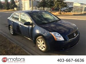 2009 Nissan Sentra 2.0 S 6 speed manual low km drives like new.