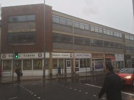 Commercial property available to rent on busy high street of Worksop.