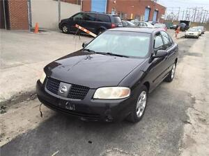 2004 NISSAN SENTRA- XE- automatic- PNEUE NEUF- A-C,  1500$
