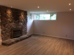 Beautiful, bright, newly-renovated basement suite, $1150 incl