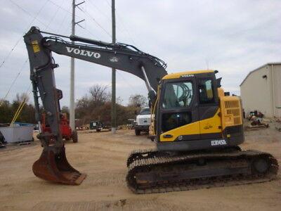 2013 Volvo Ecr145dl Excavator