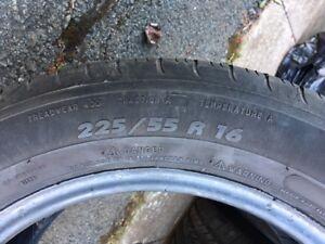 4 Michelin Tires 225/55/R16  $325.00 obo