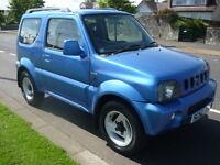Suzuki Jimny 1.3 JLX SPECIAL **Service History** (blue) 2003