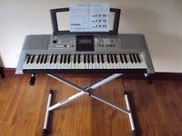 Yamaha Digital Keyboard and Stand