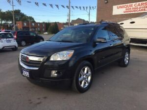 2008 Saturn Outlook XR AWD BACK UP CAM--COMES CERTIFIED--