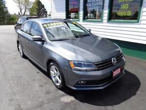 2015 Volkswagen Jetta TDI Comfortline for $169 bi-weekly all in!