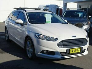 2017 Ford Mondeo MD 2017.50MY Ambiente PwrShift White 6 Speed Sports Automatic Dual Clutch Wagon Albion Park Rail Shellharbour Area Preview