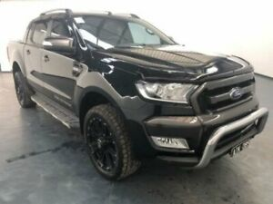 2016 Ford Ranger PX MKII WILDTRAK DOUBLE CAB Black Mica Sports Automatic Dual Cab Utility Sunshine North Brimbank Area Preview