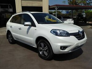 2014 Renault Koleos H45 Phase III Bose SE (4x2) White Continuous Variable Wagon Strathpine Pine Rivers Area Preview