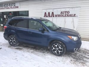 2014 Subaru Forester 2.0XT LIMITED, LEATHER NAV. GREAT BUY !