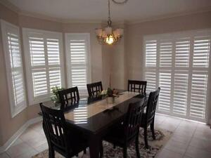 *** UP TO 80% OFF *** SHUTTERS, BLINDS, ZEBRA BLINDS, ROLLER BLINDS, SILHOUETTE BLINDS, PICKERING, AJAX, OSHAWA