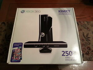 (VERY RARE!) BRAND NEW SEAL XBOX 360 250GB KINECT SPECIAL ED.