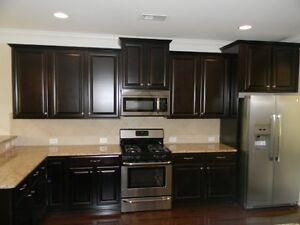 35% OFF for Espresso Raised Panel Kitchen Cabinets-Nanaimo