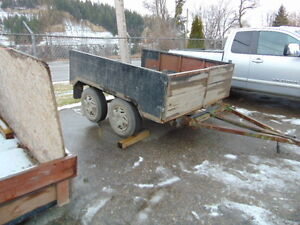 Tandem Axle Utility Trailer Prince George British Columbia image 2