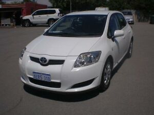 2007 Toyota Corolla ZZE122R MY06 Upgrade Ascent Seca White 4 Speed Automatic Hatchback Victoria Park Victoria Park Area Preview
