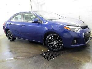 2014 Toyota Corolla S NAVIGATION CAMERA CUIR TOIT MAGS 93,000KM
