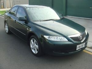 2003 Mazda 6 GG1031 Classic Green 4 Speed Sports Automatic Sedan Broadview Port Adelaide Area Preview