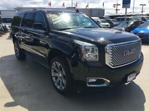 NEW 2017 GMC Yukon XL Denali BLACK (SAVE $10,000 OFF MSRP)