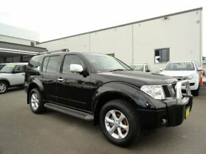 2009 Nissan Pathfinder R51 MY08 ST-L Black 5 Speed Sports Automatic Wagon West Ballina Ballina Area Preview