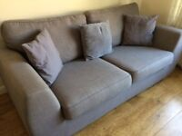 Large 2 Seat Sofa & matching Armchair