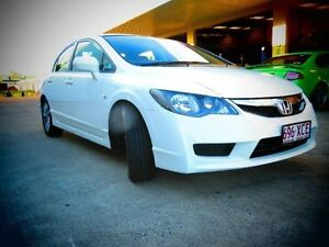 2010 Honda Civic 8th Gen MY10 VTi-L White Automatic Sedan Kippa-ring Redcliffe Area Preview